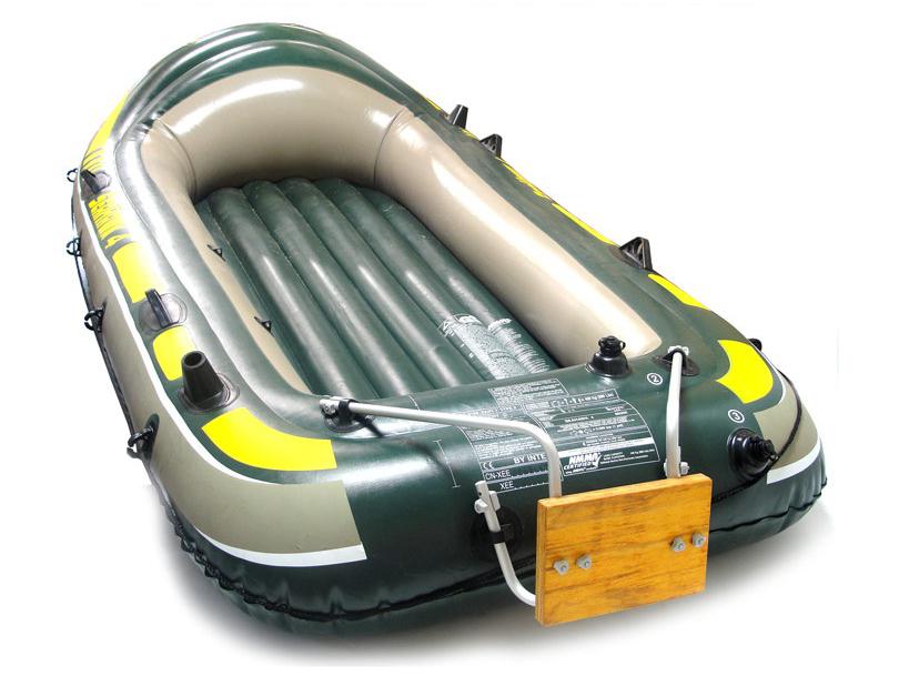 приспособление для установки мотора на надувную лодку