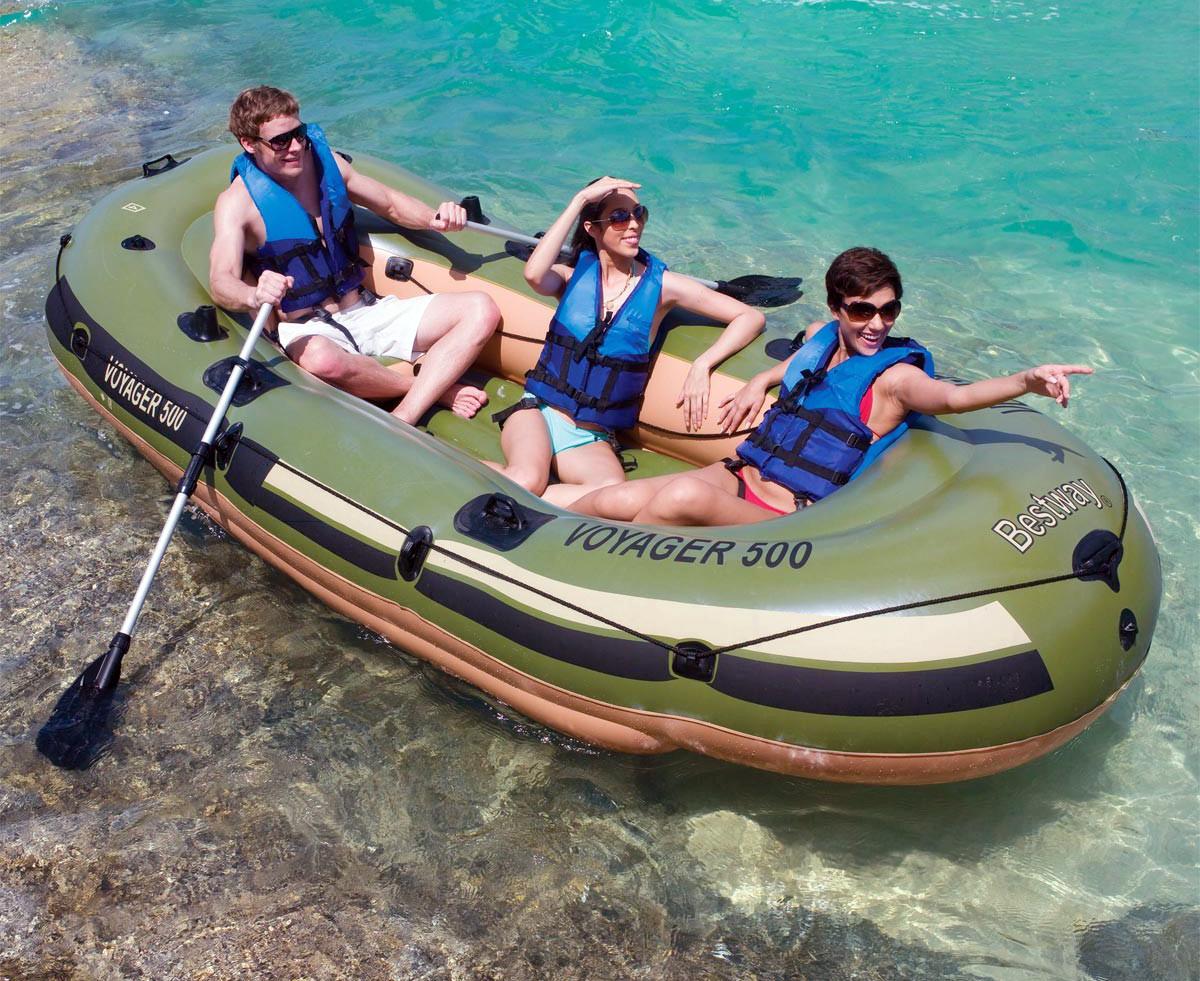 лодка надувная bestway 500