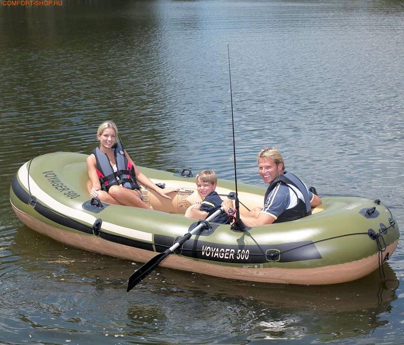 прокат надувных лодок в калининграде
