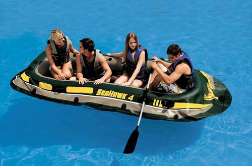 лодка intex габариты